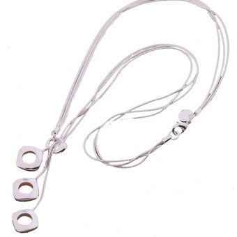 205105e4a689 Compra Collar Harmonie Accesorios Plata 925 Cadena Dijes Cuadros ...