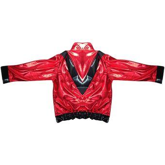 Compra Disfraz TuDi de Jackson Rey del Pop Rojo Thriller online ... 05a47eaf5857