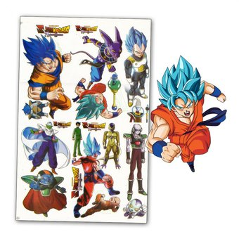 Compra Kit Tatuajes Dragon Ball Super Total Temporal Selfie Flash