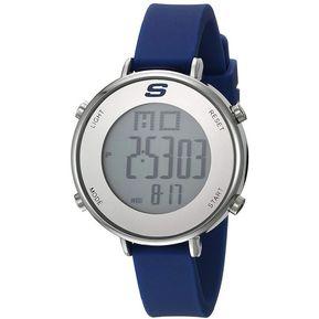 6ea784dc9cde Reloj Digital marca Skechers Modelo  SR6067 color Azul para Dama