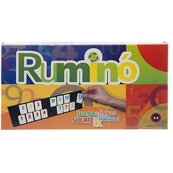 Compra Juego De Mesa Rummy Rumino Diverti Online Linio Chile