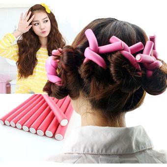 Como usar rulos para el cabello