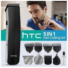 Maquina De Afeitar Y Peluqueria Recargable Kit HTC 5 En 1 AT-1201 2cf5b8d4c348