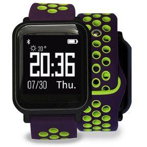 bd741d1cfbce Reloj Deportivo SmartWatch SW55 Pulsómetro Morado Verde Lhotse