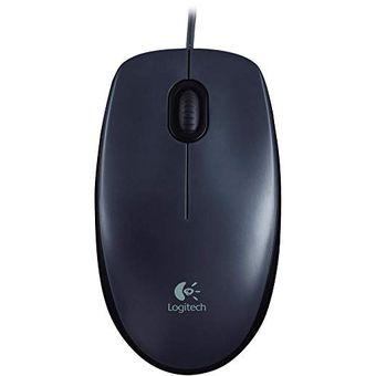 Mouse Alambrico M90 Logitech PC - Mac Nuevo