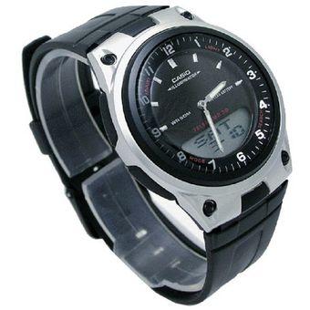 04af495a5f6a Agotado Reloj Casio AW80-1AV Telememo Deportivo Analógico Digital - Negro
