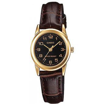 d5183f55f759 Compra Reloj Casio Mujer LTP-V001GL-1B Análogo Pulso Cuero online ...
