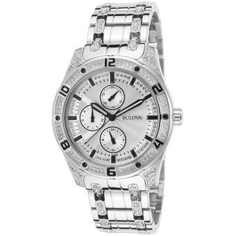ad526822a8c1 Compra Reloj Bulova Crystal Collection 96C106 Para Caballero ...