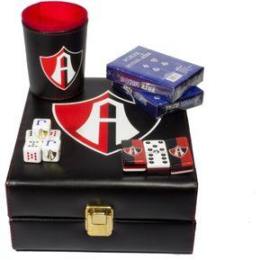 664bd883c Casino Club Atlas, 3 Juegos: Dominó, Cubilete, 2 Barajas Poker