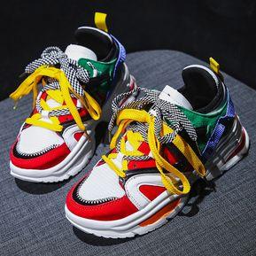 b74bbbcc Zapatos blancos de cuña clásica para mujer zapatilla deportiva básica