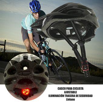 18c1f686e Compra Casco De Visera Con Luz Led Unitalla Bici Patines Skate etc ...
