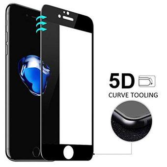 a9ebd62e305 Glass 5D - Protector De Vidrio Templado Pantalla Completa Bordes Curvos  Para IPhone 7 / 8