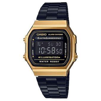 be94bf049add Compra Reloj Casio Retro A-168WEGB-1B Negro Unisex online