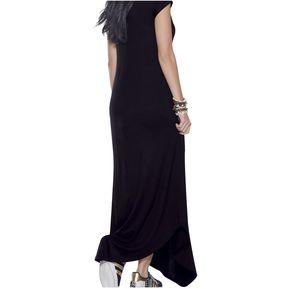 0e7b1f8b7 Vestido Juvenil Femenino Marketing Personal 64347 Negro