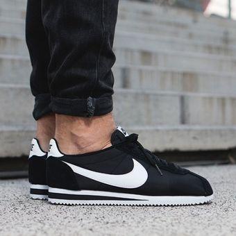 Zapatillas Nike 807472 011 Classic Cortez Nylon Hombre