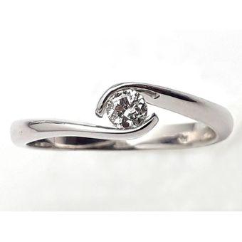 53a32b8d7ea0 Anillo De Compromiso Solitario Diamond Desing Diamante Natural 20 Puntos  Con Montadura De Oro Blanco De