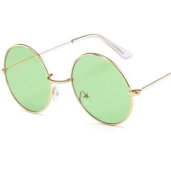 e030bd2767 Gafas de sol estilo aviador retro vintage polarizadas UV400 con montura  metálica media