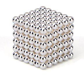 EH Imán Magic Bolas 216pcs Juego de Puzzle magnético 3mm argentado b81547837ab0