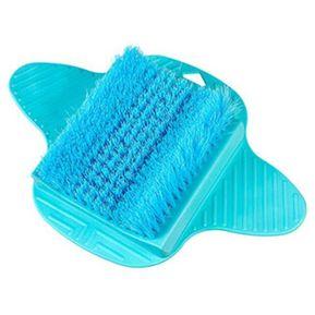 a03379e9a65 Masaje De Pies Cepillo Masajeador Pies Ducha Relax Scrub Cuidado De Remover  La Piel Muerta Azul