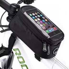 b2121937e44 Bolsa Porta Celular y Herramienta para Bicicleta Impermeable