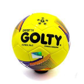 8c5ab8c445e9f Balón De Futbol Golty  5 Gambeta T654991 - Amarillo