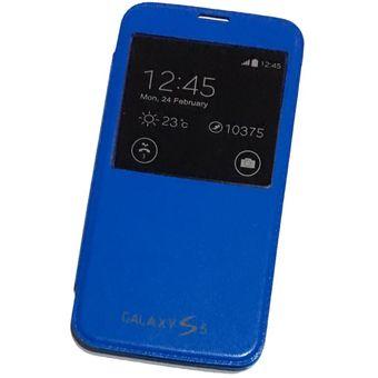 4b58feeea60 Compra Funda Flip Cover Samsung S5 - Azul online | Linio Argentina