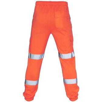 Pantalones De Trabajo De Carretera Monos De Alta Visibilidad Para Hombre Pantalones Informales Reflectantes De Trabajo De Bolsillo Pantalones Pantalones Masculinos Bq Orange Linio Peru Ge582fa0jel3jlpe