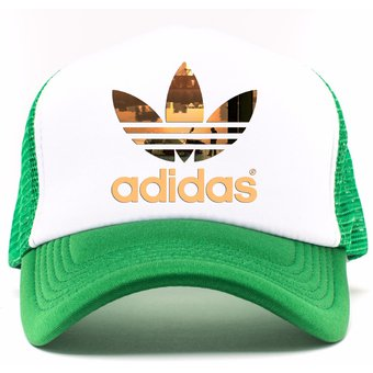 Compra Gorra Verde Frente Blanco Personalizada Logo Adidas online ... 2cbfec55b2d