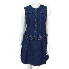 Vestido De Mezclilla .618 Para Dama Est. 6272 - Azul 7a32932ba2e0