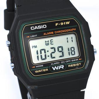 22efb759a5cd Compra Reloj Casio Clasico F91 Digital Unisex Plastico   Negro ...