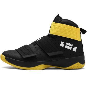 8545fe85a094e Zapatillas De Baloncesto Hombre Zapatos Hombre Ultra Zapatillas-Negro