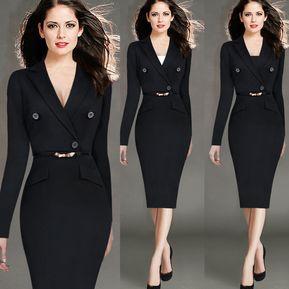 5d5fdb8a1 Paquete Vestido de talla grande de cadera Vestido de manga larga para mujer
