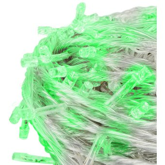 547f451e47b Compra Extension De 100 Luces LED Navidad Cable Transparente Verde ...