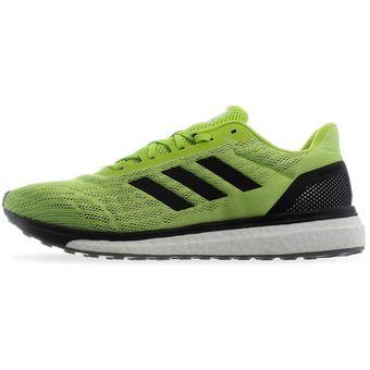 Tenis Adidas Response M CQ0016 Verde Volt Hombre