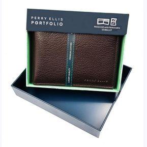 comprar popular bd633 503fa Perry Ellis Billeteras y clips para billetes hombre - Compra ...