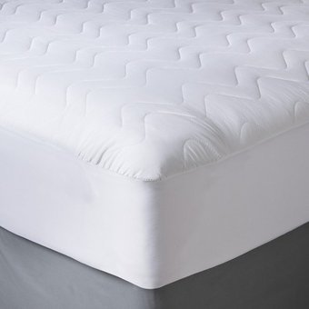 Compra Protector De Colchón Keiä Basics Rombos Ajustable-Blanco ... ba71efbc8c9a9