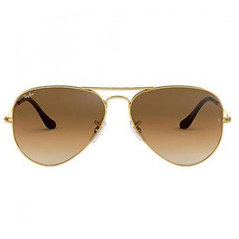 Compra Lentes de Sol Ray Ban Aviator Mujer-Dorado online  5976b1a5a850