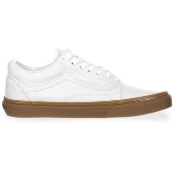 Agotado Tenis Vans Old Skool - 31Z9L0G - Blanco - Hombre 7c58fe7752a