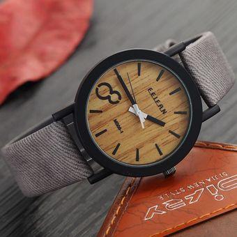 da3f53157a75 Compra Relojes De Pulsera Feifan Casual Madera Para Hombres-Gris ...