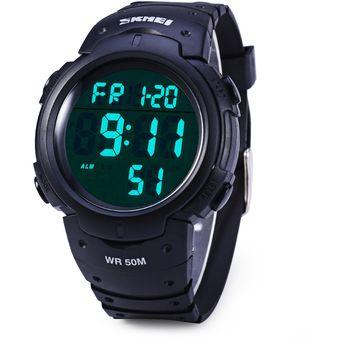 db90caae3c88 Agotado Skmei 1068 Ejército Militar Reloj LED Alarma De Cronómetro  Resistente