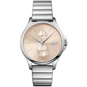 Reloj Análogo marca Lacoste Modelo  2001026 color Plata para Dama 5d1b59bdec5d