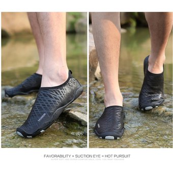 más fotos diseño de calidad Venta caliente genuino Zapatos Acuáticos Para Snorkel /natación /playa Unisexo -Negro