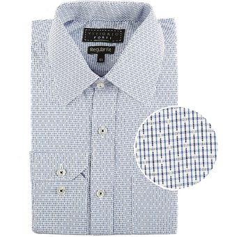 9477aba508 Compra Camisa De Vestir Manga Larga Vittorio Forti Azul online ...