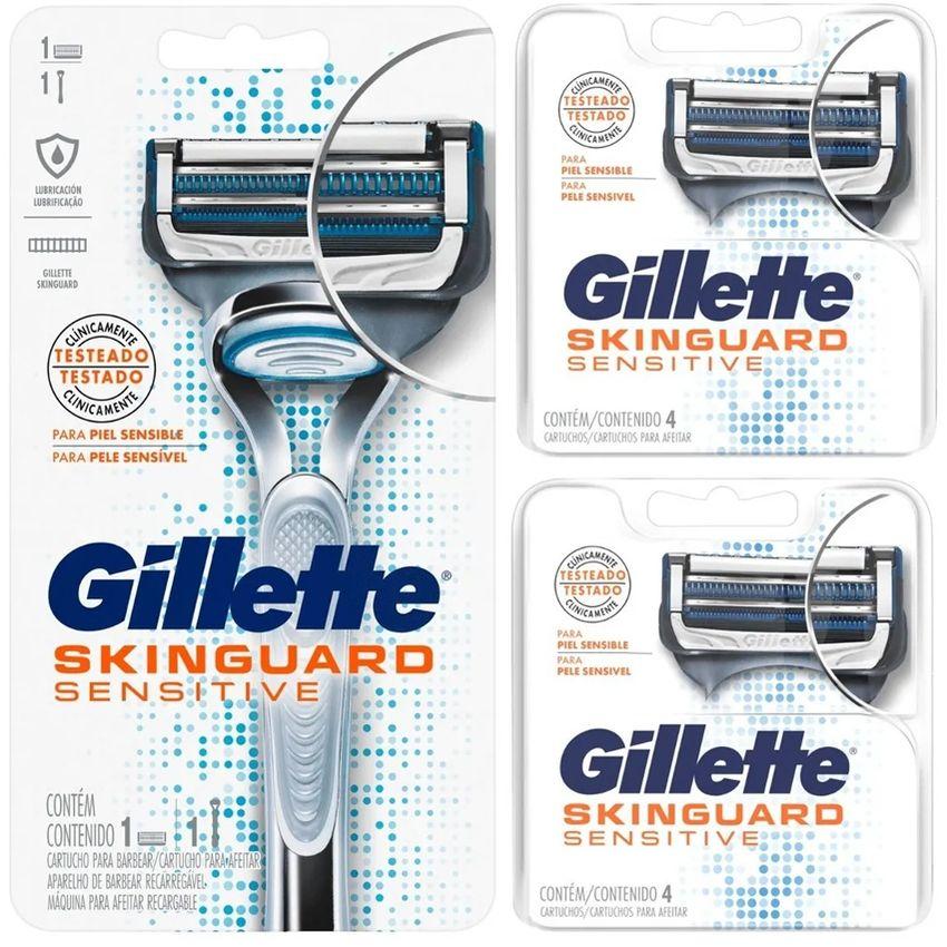 Gillette Skinguard Sensitive + 8 Repuestos