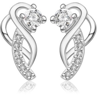 d1c80aa66f5b Compra Aretes De Mujer Plata Diamante online