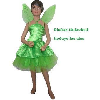 compra disfraz tinker bell verde disfraz campanita hada incluye alas