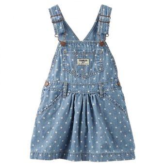13c9dd19f Compra OshKosh - Falda overol para Bebé Niña - Azul online | Linio Perú