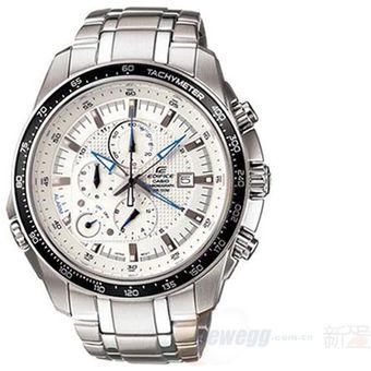 4689318db9e1 Agotado Reloj Casio Hombre Ef 545d Cronometro Taquimetro Resistencia Agua  -Negro