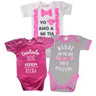 f685ac3951e9 Set Ropa Para Bebe Bodys Millonarios De Millos Baby Monster|Linio ...