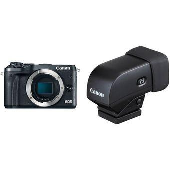 Negro Visor para c/ámara PowerShot G1 X Mark II Canon EVF-DC1